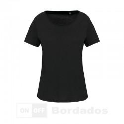 Camiseta orgánica cuello...